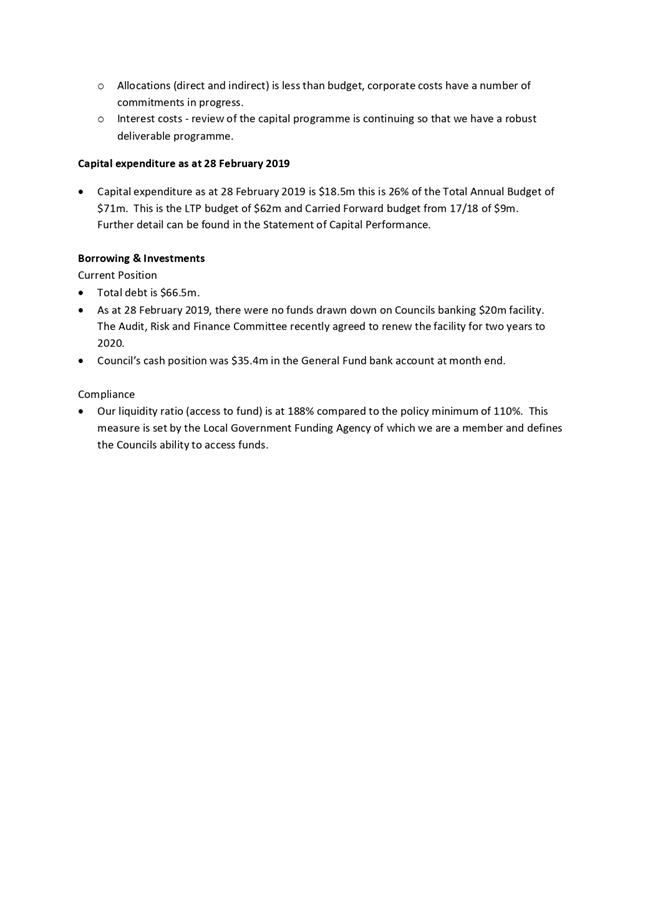 Agenda of Audit, Risk, and Finance Committee Meeting - 28